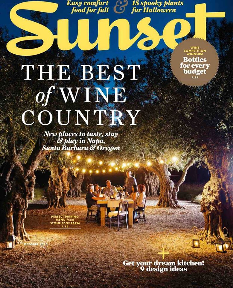 Sunset Magazine Best in Wine Country - Lompoc